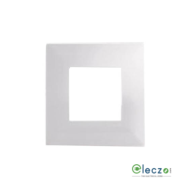 Schneider Electric Opale Cover Plate 2 Module, Coke Grey, With Support Frame