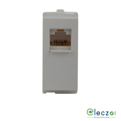 Schneider Electric Opale Telephone Outlet With Shutter 1 Module, Coke Grey, RJ 11