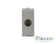 Schneider Electric Opale TV Socket 1 Module, White