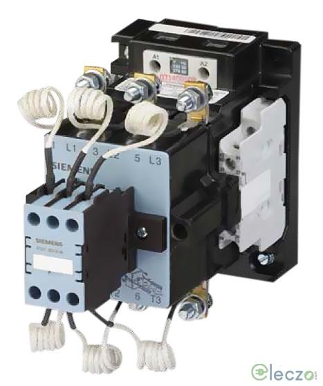Siemens 3TS Capacitor Duty Contactor 7 KVAr, 230 V AC, 1 NO