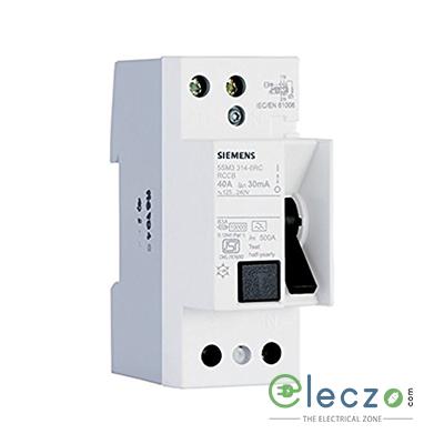 Siemens Betagard 5SM3 RCCB 25 A, 2 Pole, 30 mA, Type AC
