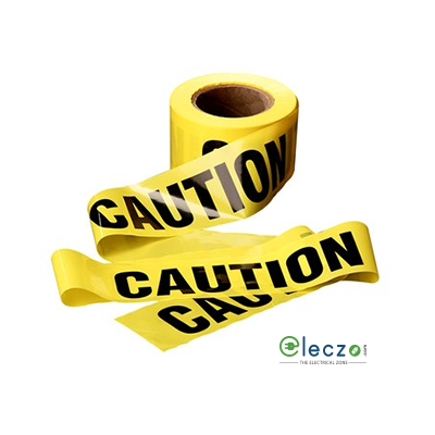 "3M Scotch300 PVC Barricade / Caution Tape, W - 3"", L - 300 Feet, Yellow"