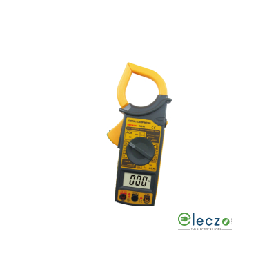 Beetech M-266 Digital Clamp Meter, 1000 V DC, 750 V AC, 1000 A AC