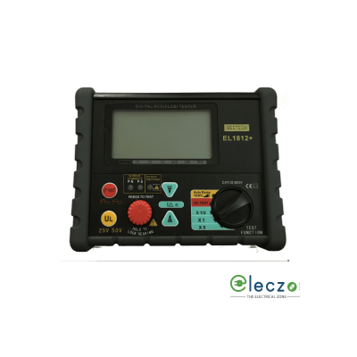 Beetech 1812EL+ Digital ELCB Tester, Trip Current Setting: 10/20/30/200/300/500mA, Auto Ramp Test