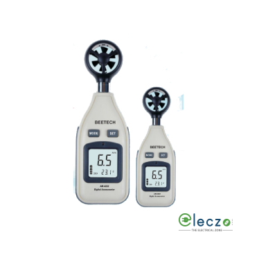 Beetech AM 4222 Digital Mini Anemometer, Air Velocity Range 30m/s