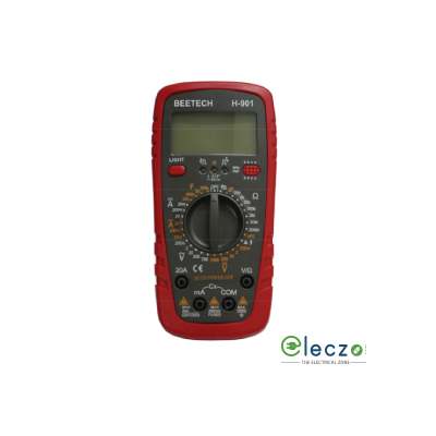 Beetech H 901 Digital Multimeter 750 V AC, 1000 V DC, 20 A AC/DC