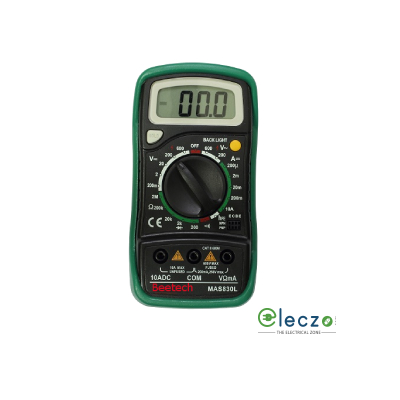 Beetech MAS 830 L Digital Multimeter 600 V AC/DC, 10A DC