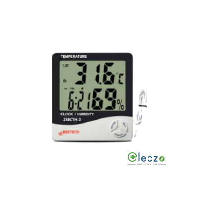 Beetech 288 CTH-2 In/Out Hygro Thermometer, 70°C