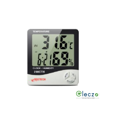 Beetech 288 CTH Digital Hygro Thermometer, 70°C
