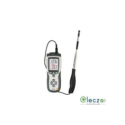 HTC Instruments AVM-08 Hot Wire Anemometer Air Velocity Range 25.0 m/s