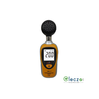 HTC Instruments CO-01 Carbon Monoxide Meter, 1000 PPM