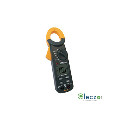 HTC Instruments CM-2000 Digital Clamp Meter 600 V AC/DC, 600 A AC