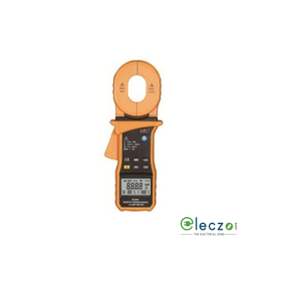 HTC Instruments CE-8201 Clamp on Ground Resistance Tester 1200Ω with Current Measurement 40 A
