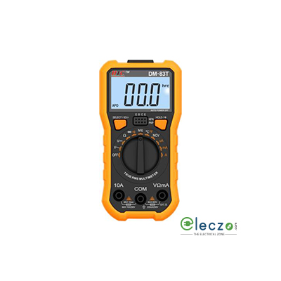 HTC Instruments DM-83T 3½ True RMS Digital Multimeter with Temperature 600 V AC/ DC, 10 A AC/DC