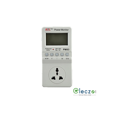 HTC Instruments PM-03 Power Monitor 10 A AC, 265 V, 2200 W