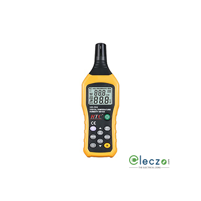 HTC Instruments 304 Digital Temperature Humidity Meter 60°C
