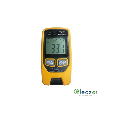 HTC Instruments L1 EASY LOG Temperature and Humidity Data Logger, 70°C