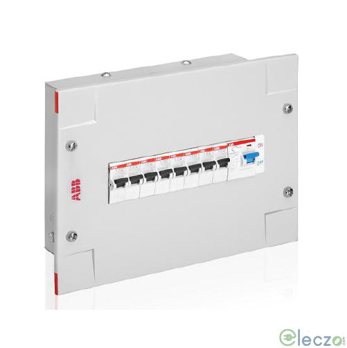 ABB Elegance Series Distribution Board 4 Way, 4 + 2 Module, SPN, Single Door, IP 30