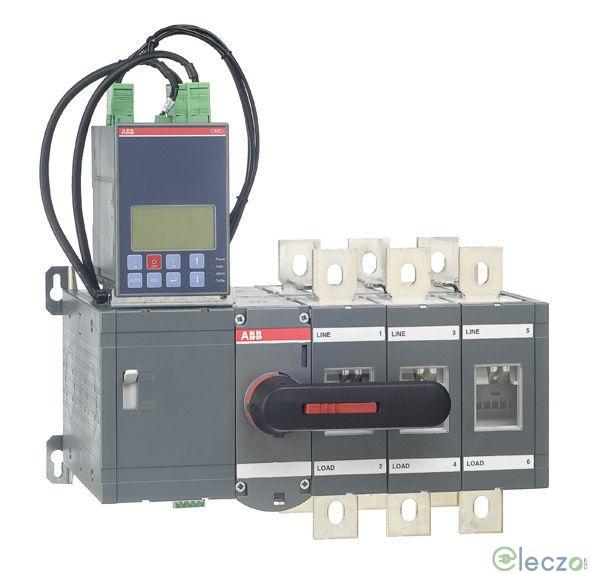 ABB OT Automatic Transfer Switch 160 A, 4 Pole, 240 V AC