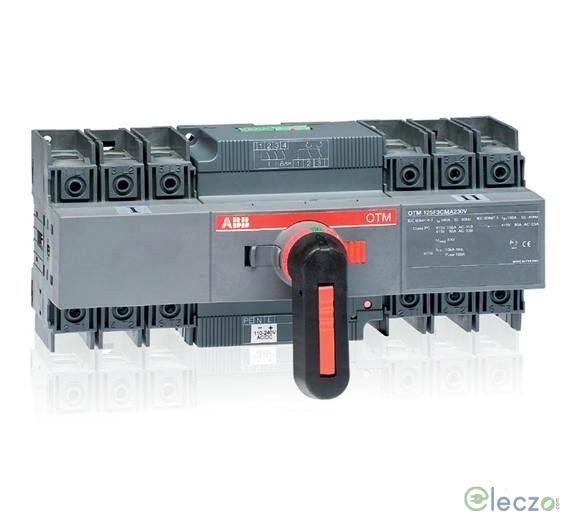 ABB OT Motorised Changeover Switch 40 A, 3 Pole, 240 V AC