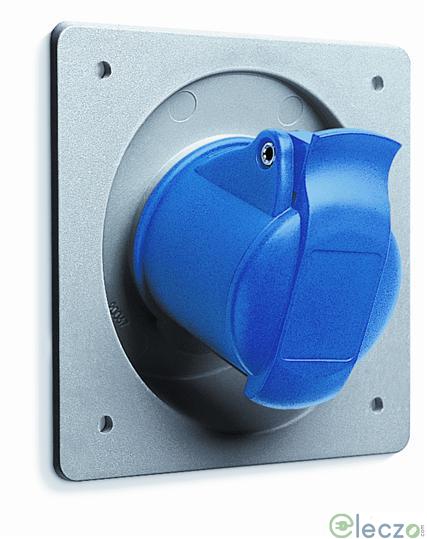 ABB Socket 16 A, 2 Pole+E, Panel Mounted, IP 44