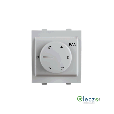 Anchor Rider EME Mega Fan Regulator 100 W, 2 Module, White, 5 Step
