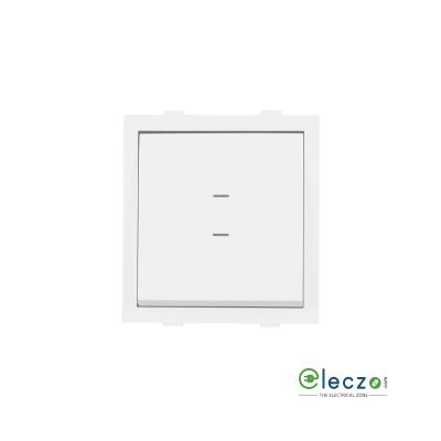 Anchor Rider Mega Switch 6 A, White, 2 Module, 2 Way