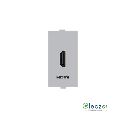 Anchor Roma Classic HDMI Receptor Silver, 1 Module,