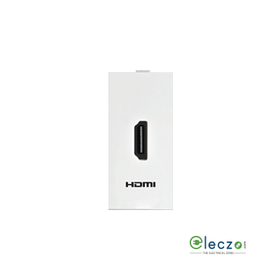 Anchor Roma Classic White HDMI Connector Socket, 1 Module