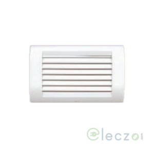 Anchor Roma Classic White Foot Light (Louvers) 4 Module, White-Lamp