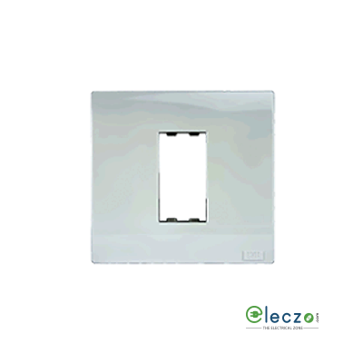 Anchor Roma Plus 1 Module Glossy White Cover Plate