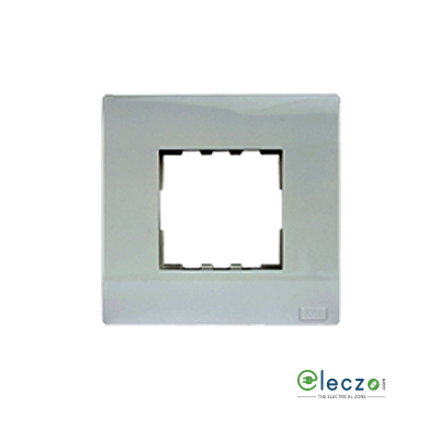 Anchor Roma Plus Cover Plate 2 Module, Glossy Finish, With Support Frame