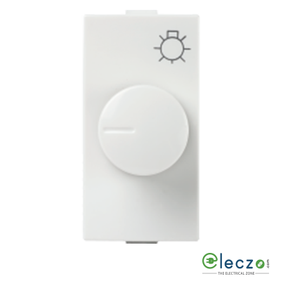 Anchor Roma Plus White Light Dimmer 450 W, 1 Module