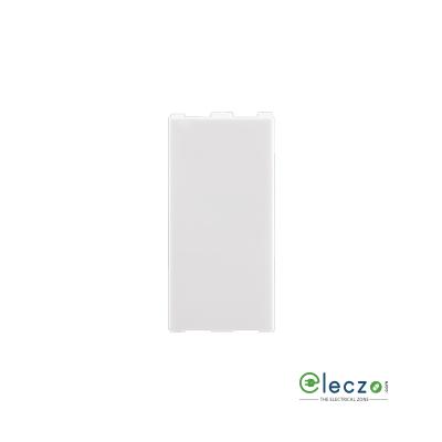 Anchor Roma Urban Blank Plate 1 Module, White