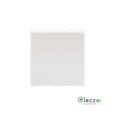 Anchor Roma Urban White Blank Plate, 2 Module