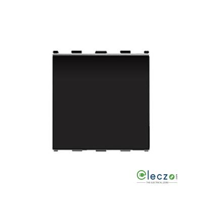 Anchor Roma Urban Black Blank Plate, 2 Module