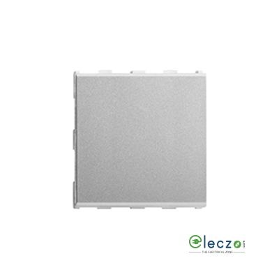 Anchor Roma Urban Silver Blank Plate, 2 Module