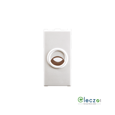 Anchor Roma Urban Cord Outlet With Grip White, 1 Module