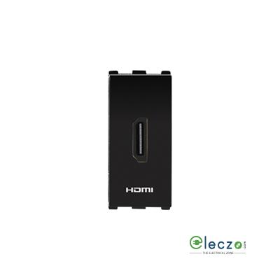 Anchor Roma Urban HDMI Connector Black, 1 Module