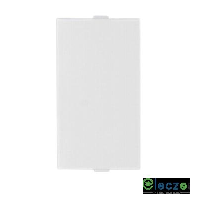 Anchor Vision White Blank Plate, 1 Module