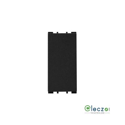 Anchor Vision Black Blank Plate, 1 Module