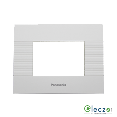 Anchor Vision Cover Plate 3 Module, White, With Support Frame