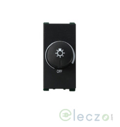 Anchor Vision Dimmer 450 W, 1 Module, Black