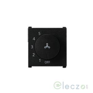 Anchor Vision Fan Regulator 100 W, 2 Module, Black