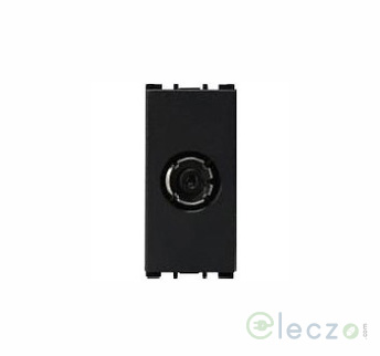 Anchor Vision Black TV Socket, 1 Module