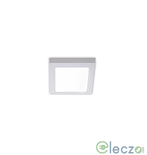 Crompton Pearl II LED Flat Panel Light 18 W, Cool Day Light, Surface Mounted, Square