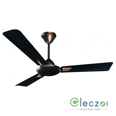"""Crompton Aura Prime Antidust Premium Ceiling Fan 900 mm (36""""), Onix, 3 Blade, High Air Delivery"""