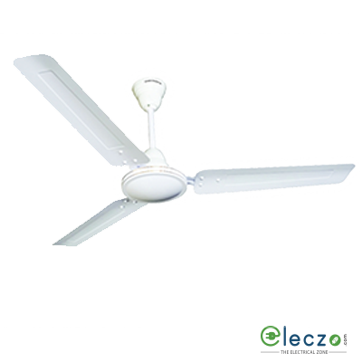 "Crompton Cool Breeze Economy - Plain Ceiling Fan 1200 mm (48""), Opal White, 3 Blade"