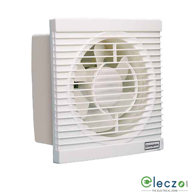 Crompton Riviera Bolt Domestic Exhaust Plastic Ventillation High Speed Fan 200 mm (8''), Ivory