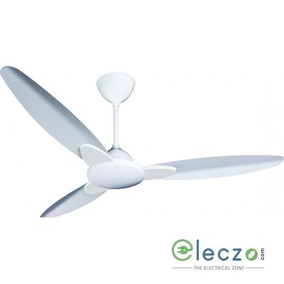 """Crompton Senorita - Metallic Ceiling Fan 1200 mm (48""""), Opal White, 3 Blade"""